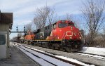 CN with 2 BNSF